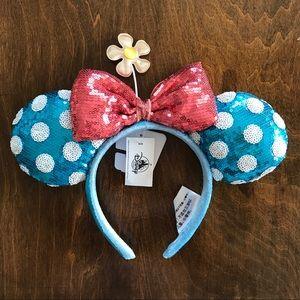 Disney   Disney Parks Vintage Look Minnie Ears